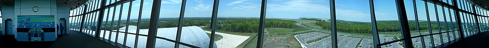 Panorama from tower