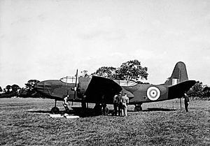 Denial and deception - Dummy aircraft, like the one pictured (modelled after the Douglas A-20 Havoc) were used in the deception tactics of Operation Fortitude during World War II.