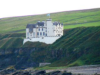 Dunbeath Castle Castle in Highland, Scotland, UK