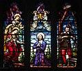 Dundalk Saint Patrick's Pro-Cathedral East Aisle Window 04 Upper Lights 2013 09 23.jpg