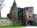 Dunfermline Abbey gatehouse and pend, Dunfermline.jpg