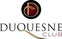 The logo of the Duquesne Club
