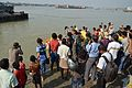 Durga Idol Immersion - Baja Kadamtala Ghat - Kolkata 2012-10-24 1478.JPG