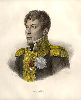 Géraud Duroc French general, diplomat and politician