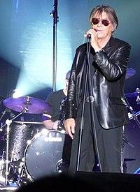Jacques Dutronc sur scène en 2010