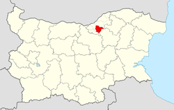 Dve Mogili Municipality within Bulgaria and Ruse Province.