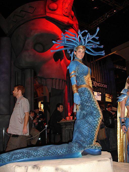 E3 2006 medusa costume