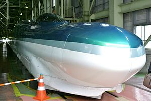 Fastech 360 - The Fastech 360Z set S10 at Sendai Shinkansen Depot in July 2008