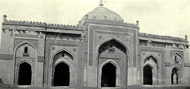 EB1911 Indian Architecture - Sher Shah's Mosque at Delhi.jpg