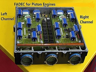 FADEC - FADEC for piston engine