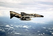 EF-4C 67th TFS over Vietnam Dec 1972