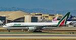 EI-ISO Alitalia Boeing 777-243(ER) s-n 32857 (36956738113).jpg