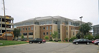 Bruce T. Halle Library - Library from northeast corner