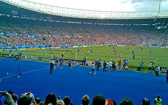 Croatia national football team - Croatia vs. Austria match at Euro 2008 (Luka Modrić's penalty)