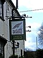 Eagle and Serpent inn sign, Kinlet - geograph.org.uk - 782437.jpg
