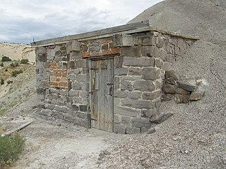 National Register of Historic Places listings in Dinosaur National Monument - Image: Earl Douglass workshop