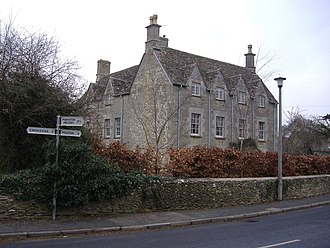 Down Ampney - Image: East House, Down Ampney geograph.org.uk 331224