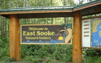 East Sooke - Welcome sign