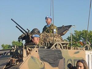 3rd/4th Cavalry Regiment (Australia) - M113 APC of 3/4 CAV on peacekeeping duties in East Timor