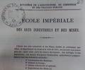 Ecole imperiale des arts industriels et des mines de Lille (Ecole Centrale de Lille) 1860.png
