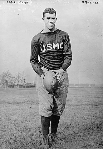 1913 College Football All-America Team - Eddie Mahan of Harvard
