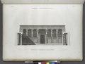 Edfou (Idfû) (Apollinopolis Magna). Élévation du portique du Grand Temple (NYPL b14212718-1267882).tiff