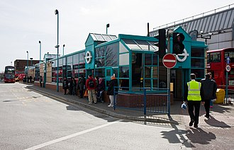 Edgware bus station - Image: Edgware Bus Station geograph.org.uk 1794410