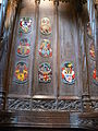 Edinburgh - St Giles Catherdal - Stall plates of Knights of the Thistle 09.JPG