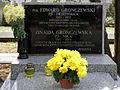 Edward Gronczewski Przepiórka - Zinaida Gronczewska Nika - Cmentarz Wojskowy na Powązkach (114).JPG