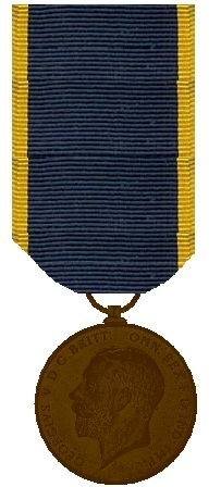 Edward Medaille Regering van George V 1910 - 1936