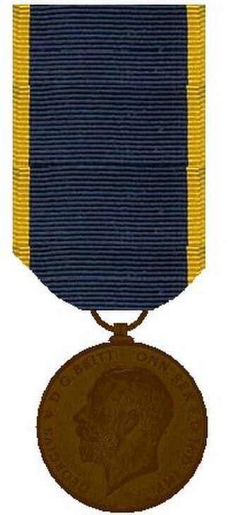 Edward Medal - Image: Edward Medaille Regering van George V 1910 1936