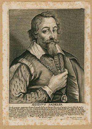 Sadeler family - Aegidius Sadeler, in Het Gulden Cabinet