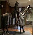Egitto mamelucco, armatura da cavaliere e bardatura equina, 1550 ca.jpg