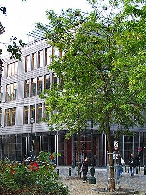 Erasmushogeschool Brussel - The building of the Erasmushogeschool Brussel department Campus Dansaert