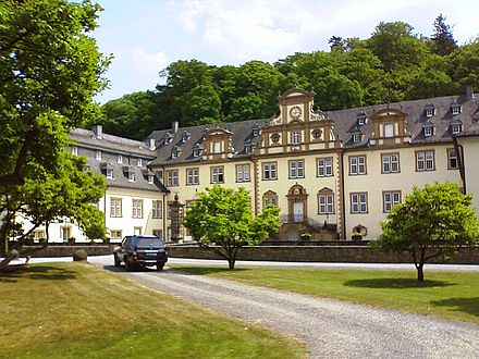 Ehreshoven Castle is used as location for the fictional Konigsbrunn Castle. Ehreshoven.jpg
