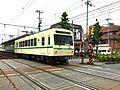 Eiden Deo 700 series at Shugakuin Station 2015-06-02.jpg