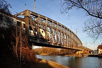 Brücke über den Kanal bei Zihlbrücke