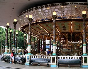 El Dorado, the oldest working carousel in the ...