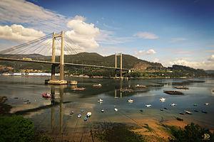 El puente de Rande (Vigo)