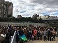 El río de Madrid acoge la Ceremonia del Pueblo Gitano 09.jpg