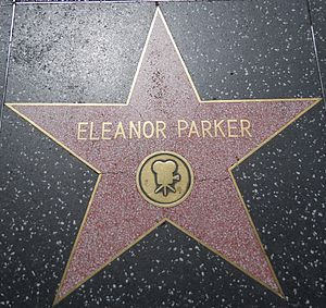 Eleanor Parker - Star on the Hollywood Walk of Fame at 6340 Hollywood Blvd.