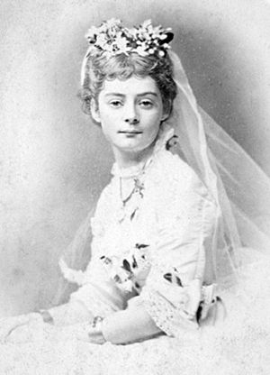 Ellis Rowan - Ellis Rowan on her wedding day