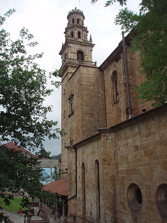 Elorrio - Elorrio's main church