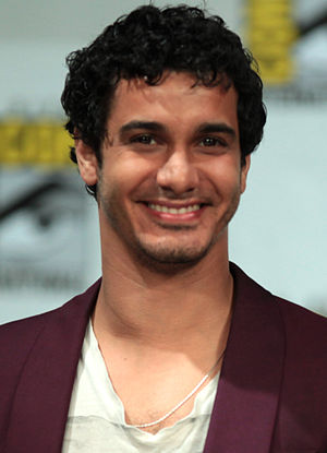 Elyes Gabel - Gabel at the 2014 San Diego Comic Con