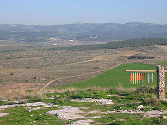Ayalon Valley - Ayalon Valley, as seen from Gezer