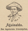Emilio Aguinaldo (1869-1964) in a hat, anonymous engraving.png