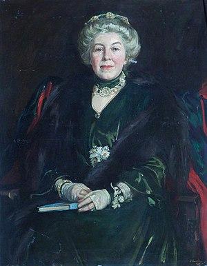 Constance Jones - Emily Elizabeth Constance Jones, portrait by John Lavery