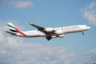 Emirates fleet - Emirates Airbus A340-500