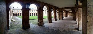 Emmanuel College, Cambridge - Front Court cloisters