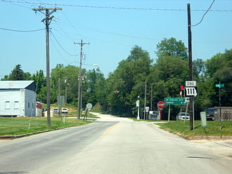 Missouri Route 111 - Route 111 ends at US 136 in Rock Port.